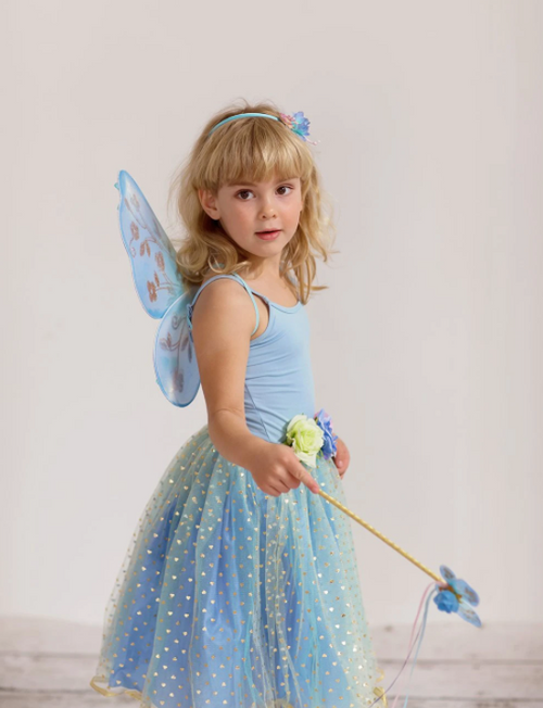 Into the woods Fairy Tutu Dress Blue (Child 3/4)  Dancewear Australia