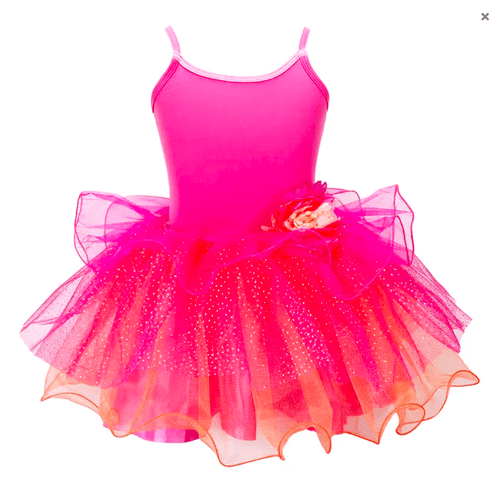 Bloom Fairy Tutu Dress, Pink Poppy  Dancewear Australia