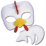 Chicken Mask and Tail (beak and all) is the most adorable animal costume addition. Includes: one chicken mask and tail. costume factory, fancy dress