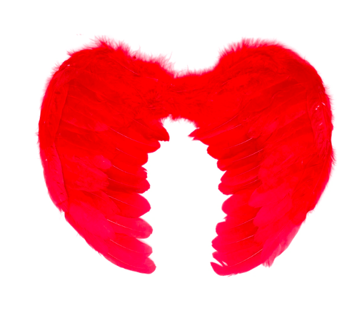 Add this set of Angel Wings to your outfit for the perfect finishing touch. Whether you're using them for your Devil Outfit or simply want to mix it up, these wings are perfect for any angel-inspired costume.