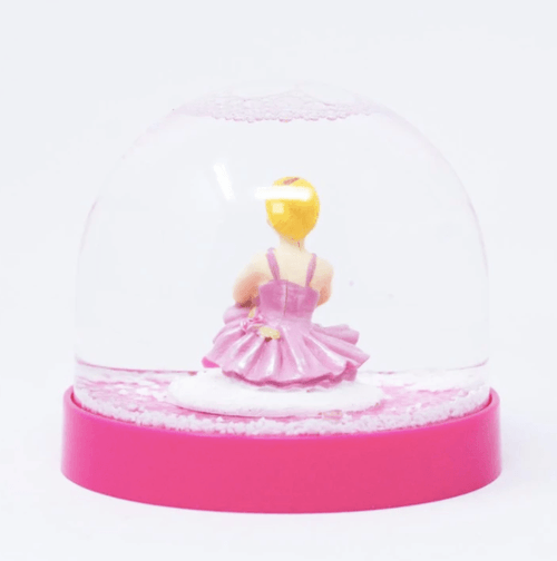 Ballerina Snowglobe - Gifts ballet dancer pink poppy dancewear australia teachers presents glitter