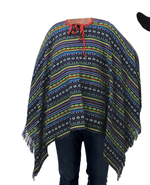 Adult Mexican Poncho costume fancy dress