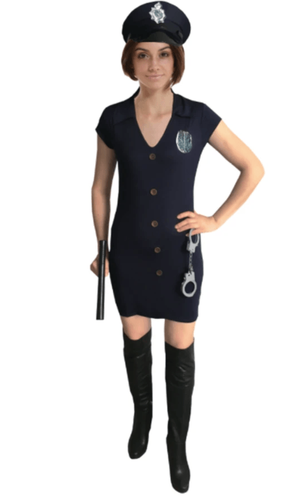 Adult Police Lady Costume