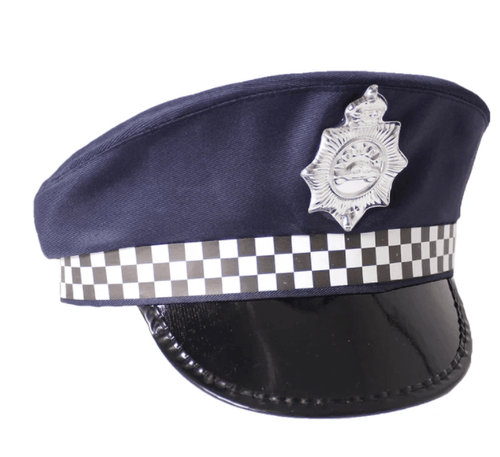 Police Officer Hat - fancy dress costumes australia