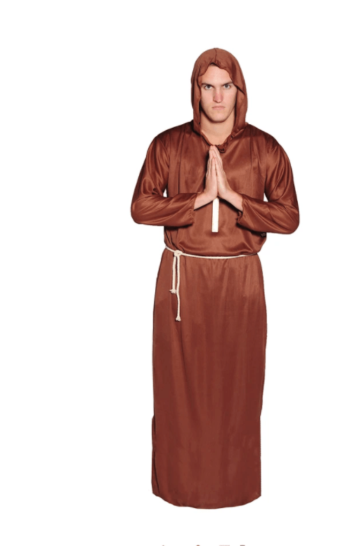 ADULT MONK COSTUME halloween fancy dress australia