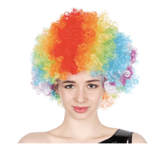 Afro Wig Great for for crazy hair day or for any fancy dress costume party!