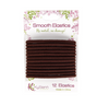 Kysienn Smooth Hair Ties are strong. They are also snag-free and metal free. 12 ties