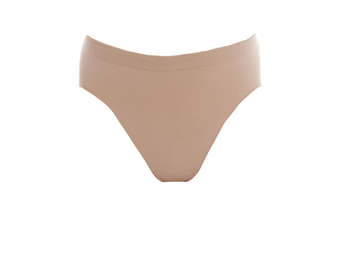 The Seamless High Cut Brief is perfectly discreet under your dancewear.