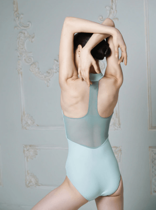 Kerry Sea Glass Leotard Eleve Dancewear Upstage Bloch Australia
