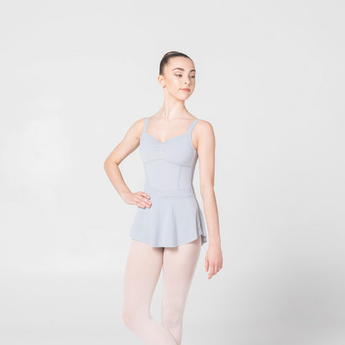grey dancewear skirt ballet claudia dean cloud