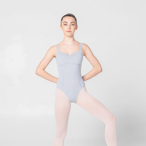 grey leotard ballet dancewear