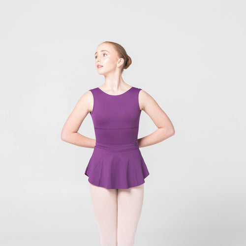plum purple dancewear claudia dean ballet skirt
