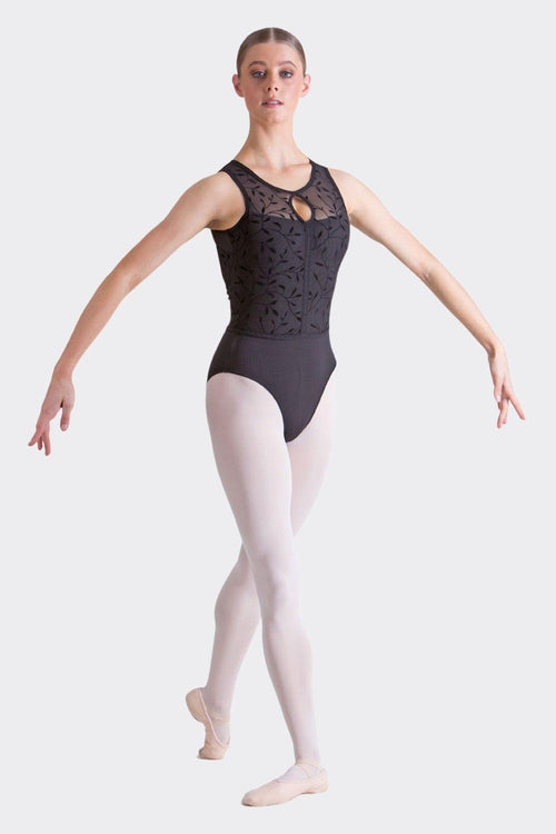 Chloe Leotard | Black  Dancewear Australia