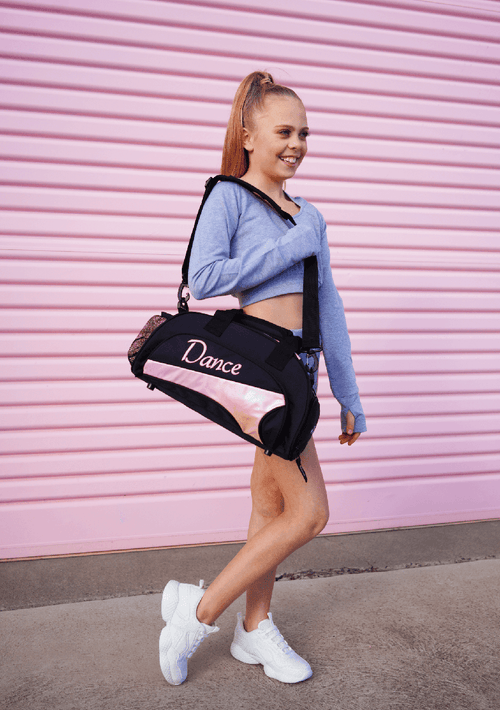 Junior Duffel Bag, Fairy Floss  Dancewear Australia