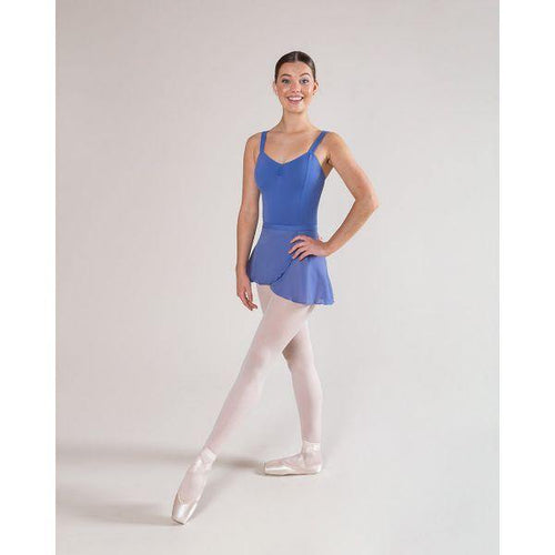 CLEARANCE - CL11/AL11 Wide Strap Leotard - Lunar Blue  Dancewear Australia