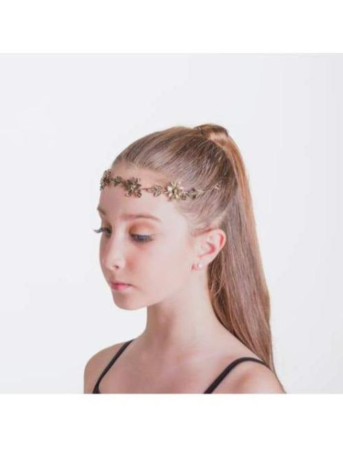 Autumn Hairpiece - Bronze  Dancewear Australia