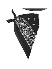 Bandana Black Upstage Dancewear & Costume Factory  Dancewear Australia