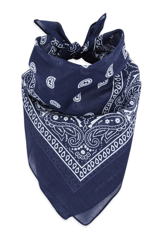 bandana navy costume, face mask