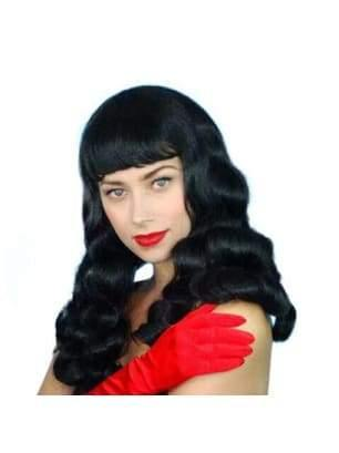 Bettie Paige Burlesque Black Wig  Dancewear Australia