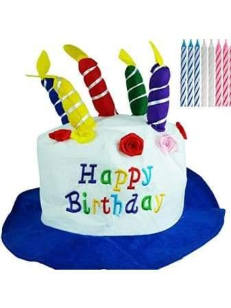 Birthday Cake Hat | Blue  Dancewear Australia