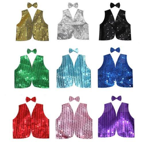 Sequin Bow Tie & Vest Set - Adult  Dancewear Australia