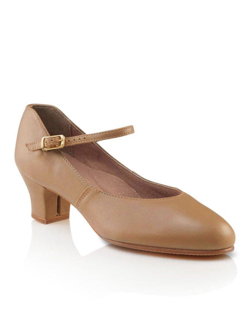 Leather Jr. Footlight Cuban Heel- Caramel 551 Capezio  Dancewear Australia