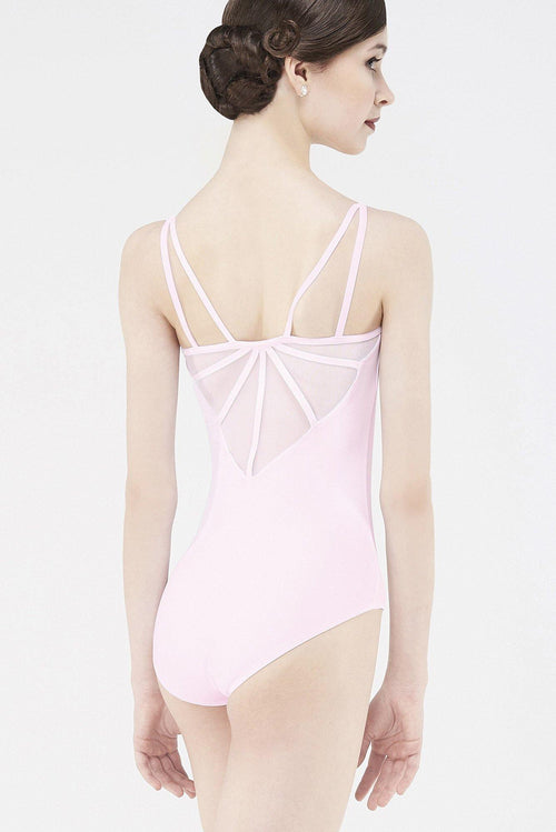 womens pale pink leotard dancewear wear moi