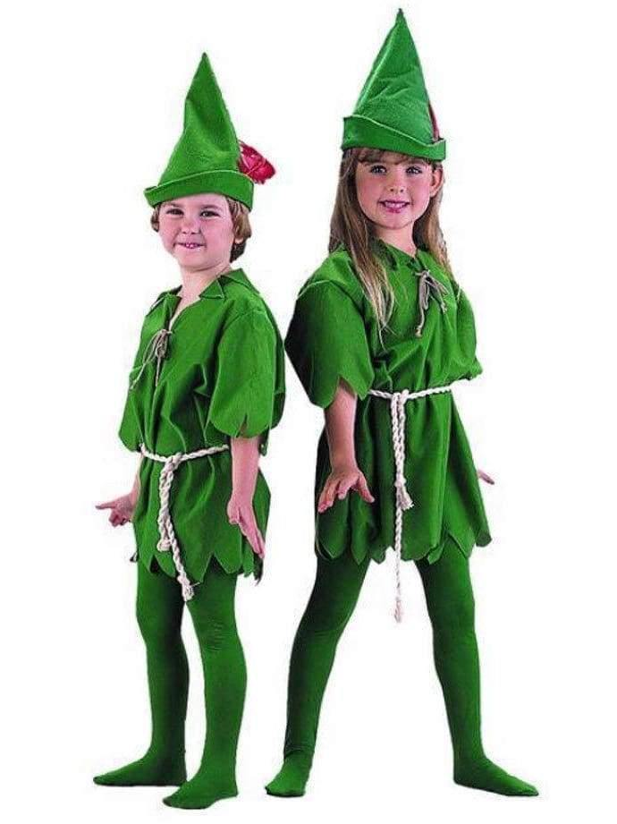 Children Green Costume (peter pan)  Dancewear Australia