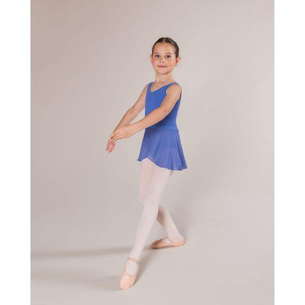 CLEARANCE CL04/AL04 Gatheredfront Leotard - Lunar Blue  Dancewear Australia