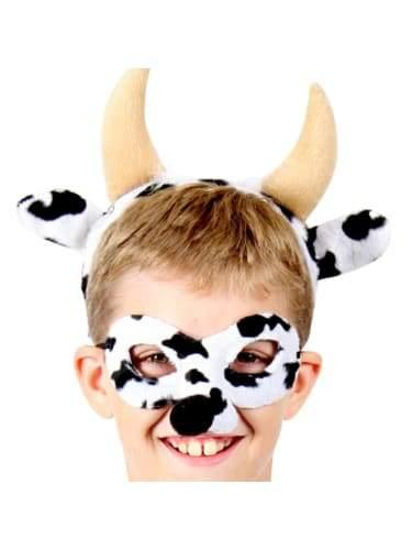 Cow Mask & Headband  Dancewear Australia