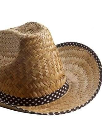 Cowboy Hat - Natural Straw  Dancewear Australia