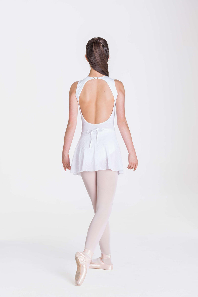 Alexa Wrap Skirt | White  Dancewear Australia