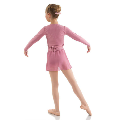 CLEARANCE, Cross Over, Dusty Pink  Dancewear Australia