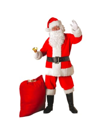 Deluxe Santa Suit Costume Sale