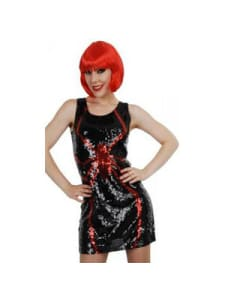 Deluxe Spider Sequin Dress  Dancewear Australia