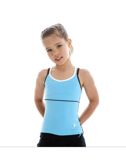 Double Strap Singlet (Child & Adult Sizes)  Dancewear Australia