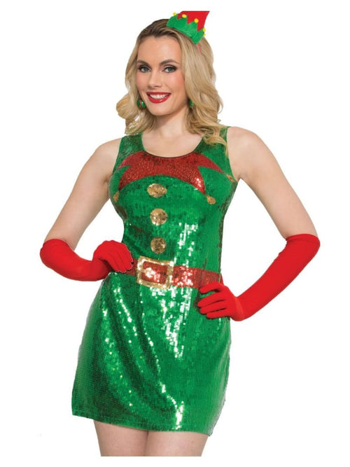 Elf Sequin Dress  Dancewear Australia