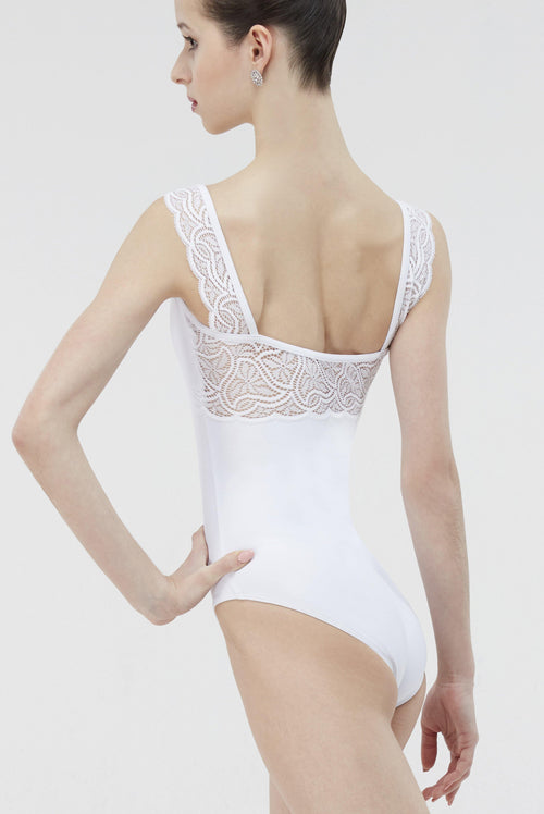 white ballet leotard wear moi womens