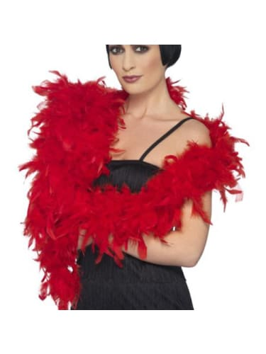 Feather Boa Red Novelties