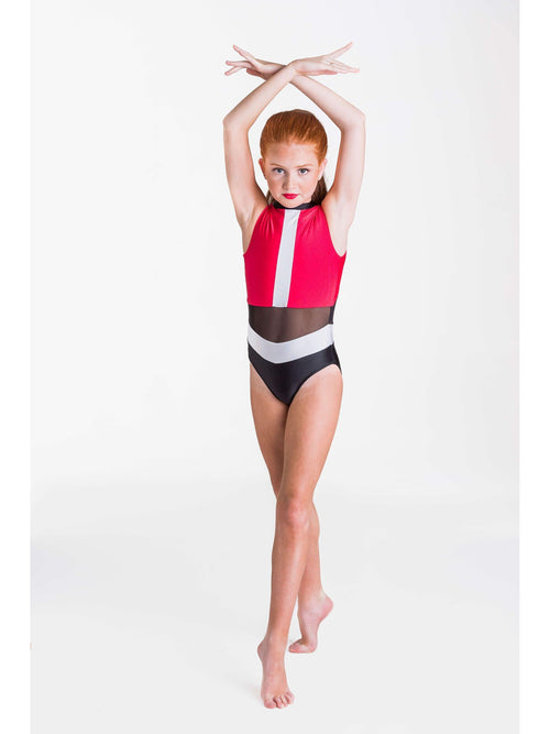 Felicity Leotard - Red  Dancewear Australia