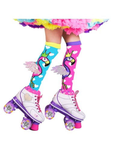 Flying Flamingo Socks Mad Mia Dancewear Australia