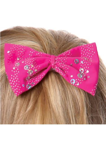 Glitter Hair Bow Mulberry HairAccessories