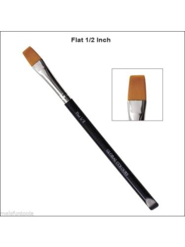 Global - flat 1/2 inch brush  Dancewear Australia