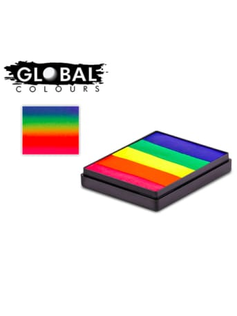 Global - Neon Rainbow Cake 50g  Dancewear Australia