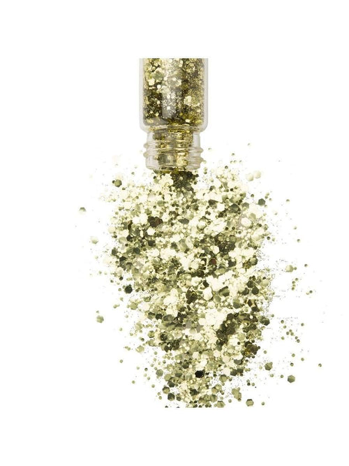 Gold Glitter Bottles- Bio degradable  Dancewear Australia