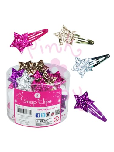 Hair Clip - Sparkly Star  Dancewear Australia