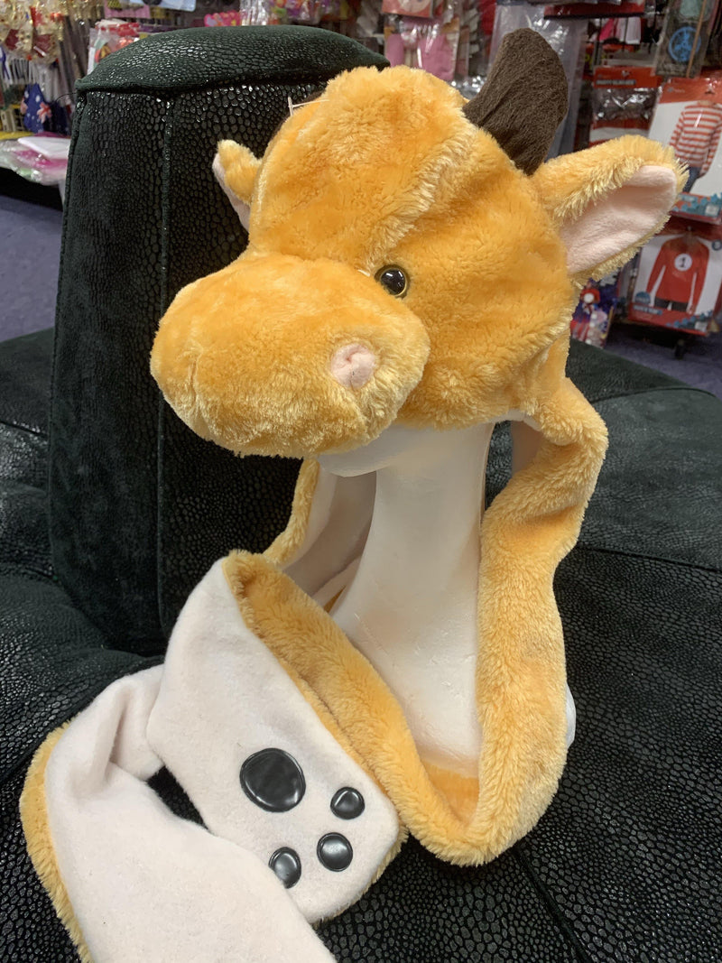 Cow Plush Hat