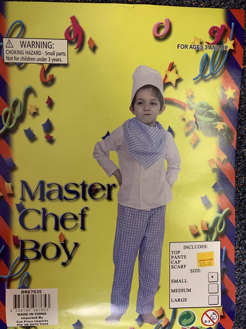 Master Chef Boy - Small  Dancewear Australia