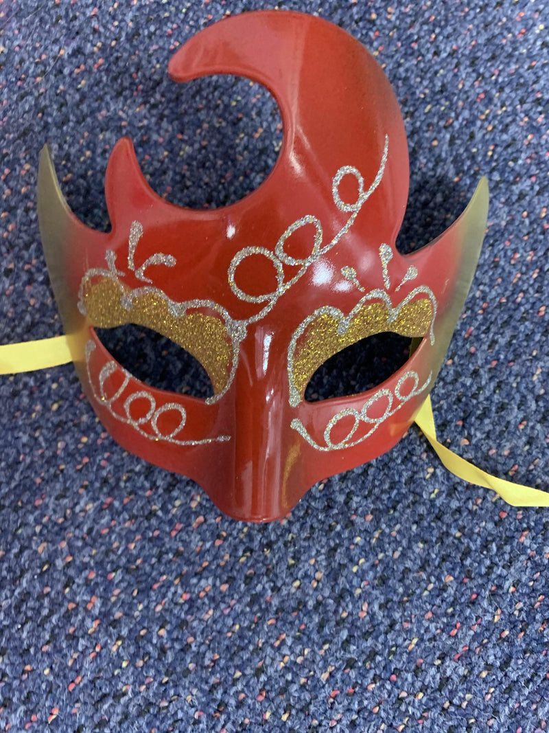 Mask - Red & Gold