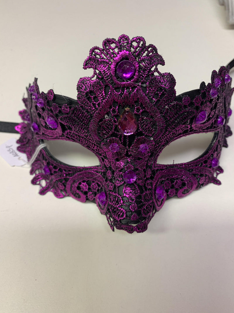 Mask - Crystal Lace Purple